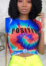 Women Fashion Print Tee