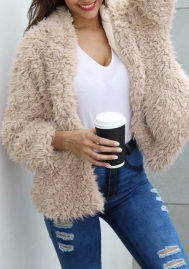 (Estimate Sent out within 3~6 work days) Women Luxury Winter Warm Fluffy Faux Fur Short Coat Jacket Parka Outwear