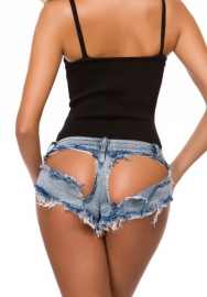 Women Sexy Ripped Jeans Hot Pants Short Pants
