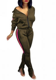 2020 Styles Women Fashion INS Styles Fashion Tracksuit Suit