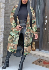2020 Styles Women Fashion INS Styles Fashion Camouflage Coat