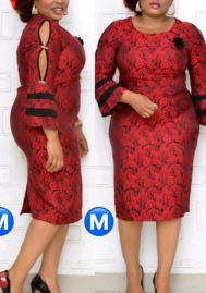2020 Styles Women Fashion INS Styles Fashion Plus Size Dress
