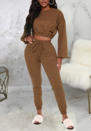 2020 Styles Women Fashion INS Styles Fashion Long Sleeve Two Piece Suit