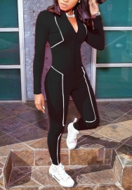 2020 Styles Women Fashion INS Styles Fashion Long Sleeve Jumpsuit