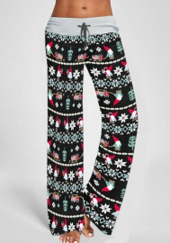 Women Fashion Christmas Styles Long Pants