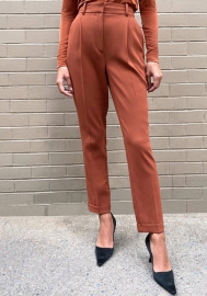 2020 Styles Women Fashion INS Styles Pu Long Pants