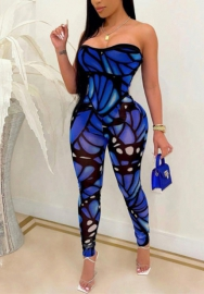 (Pre-Sale)2021 Styles Women Fashion INS Styles Summer Mesh Jumpsuit